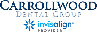 Carrollwood Dental Group and Invisalign logos